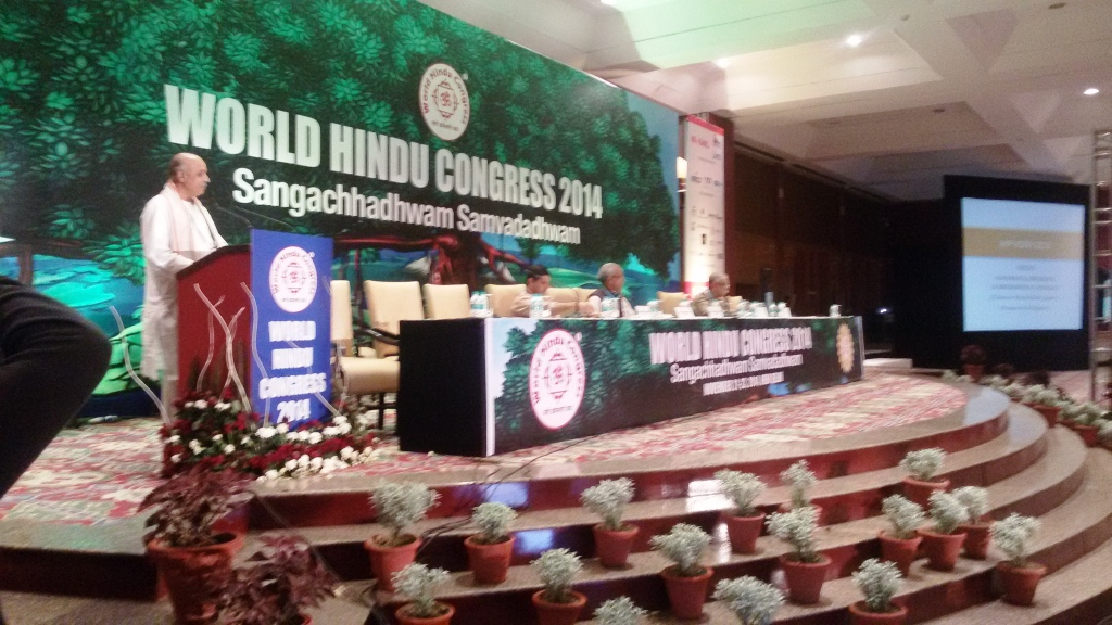 Dr-Togadia-presenting-VHP-Vision-2025-and-Beyond-in-VHP-World-Hindu-Congress-Nov-23-2014