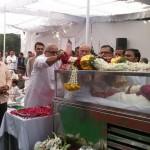 Bhayyaji Joshi Ashok ji ko Shraddha suman arpit karte hue